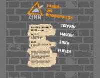 www.tietjezinn.de - Tietje Zinn, Maurer und Betonbaumeister